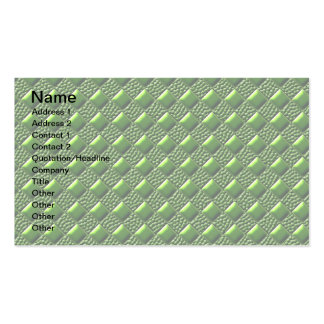 Shiny Green Business Card
