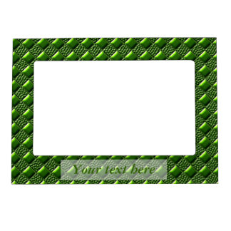 Shiny Green Magnetic Frame