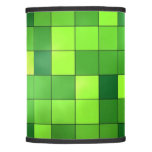 Shiny Green Mosaic Pattern Lamp Shade