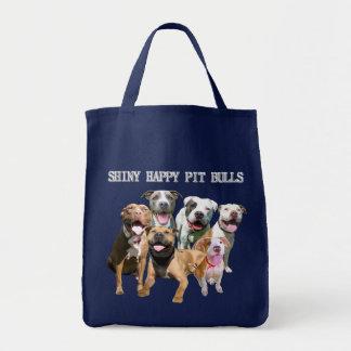 Shiny Happy Pit Bulls Bag