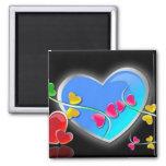 Shiny Hearts Magnet