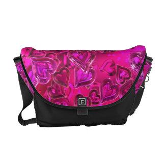 Shiny Hearts Messenger Bag
