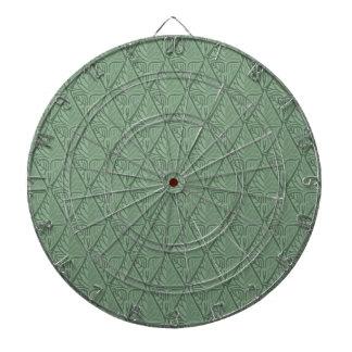 Shiny Leaf Pattern Dart Board