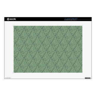 Shiny Leaf Pattern Laptop Skins