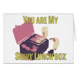shiny lunch box card