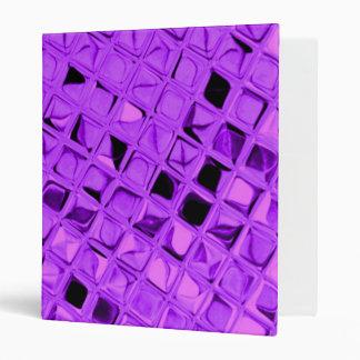 Shiny Metallic Amethyst Purple Grape Diamond Binder
