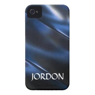 Shiny metallic blue iPhone 4 case
