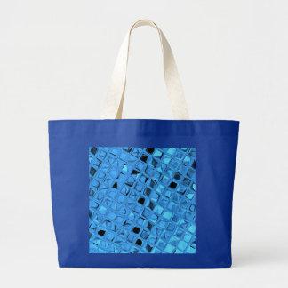 Shiny Metallic Girly Blue Diamond Sissy Sassy Bags