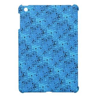 Shiny Metallic Girly Blue Diamond Sissy Sassy Faux iPad Mini Cases