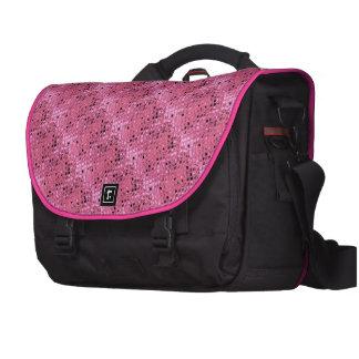Shiny Metallic Girly Pink Diamond Sissy Sassy 2 Laptop Bag