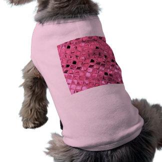 Shiny Metallic Girly Pink Diamond Sissy Sassy Tee