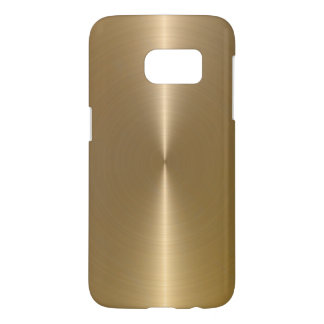 Shiny Metallic Gold Background Texture Samsung Galaxy S7 Case