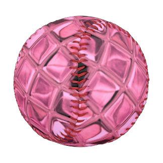 Shiny Metallic Pink Diamond Baseball