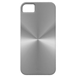 Shiny Metallic Silver iPhone 5 Case