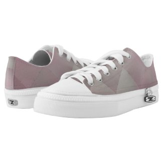 Shiny Modern Checkered Metal Pink