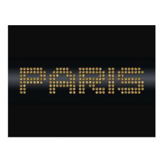 shiny Paris paper products Postcard