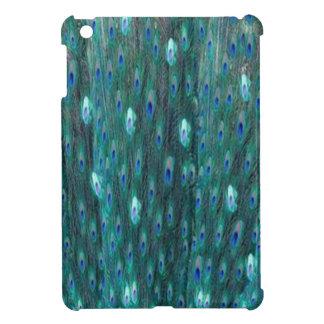 Shiny Peacock Feathers Cover For The iPad Mini