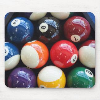 Shiny Pool balls close up Mouse Pad