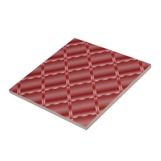 Shiny Red Ceramic Tile Small Square Tile