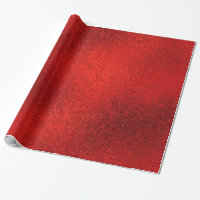 Shiny Red Christmas WRAPPING PAPER