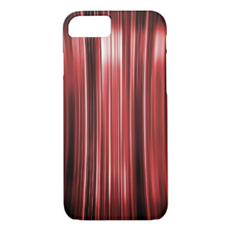 Shiny red curved lines pattern iPhone 8/7 case