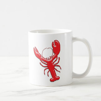 Shiny Red Lobster Coffee Mug