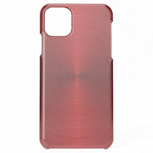 Shiny red metallic background iPhone 11 pro max case