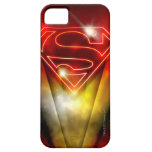 Shiny Red Outline Superman Logo iPhone 5 Cover