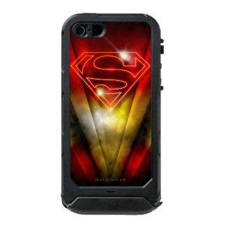 Shiny Red Outline Superman Logo Incipio ATLAS ID™ iPhone 5 Case