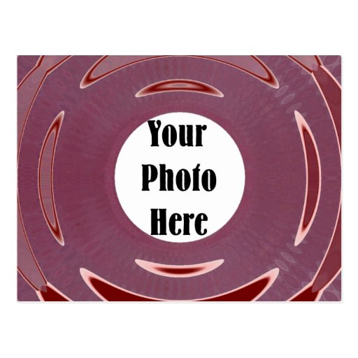 Shiny, Red Photo Ring Postcards