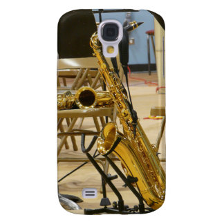 Shiny Saxo on Stand Samsung S4 Case