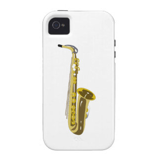 Shiny Saxophone Case For The iPhone 4