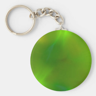 Shiny Shimmering Lime Green Keychain