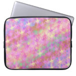 Shiny Shimmery Abstract Digital Art Laptop Computer Sleeves