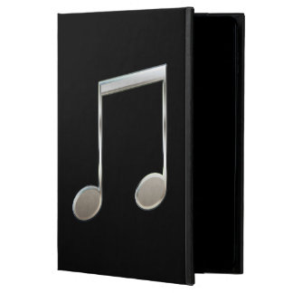 Shiny Silver Music Notation Beamed Whole Notes Powis iPad Air 2 Case