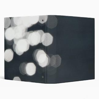 Shiny Sparkles Background 3 Ring Binder