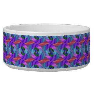 Shiny spiral pattern bowl