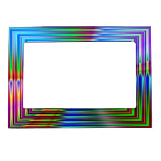 Shiny Squares Magnetic Picture Frame