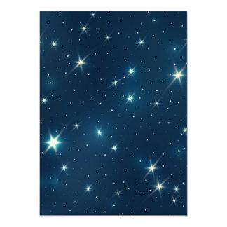 Shiny Stars Card