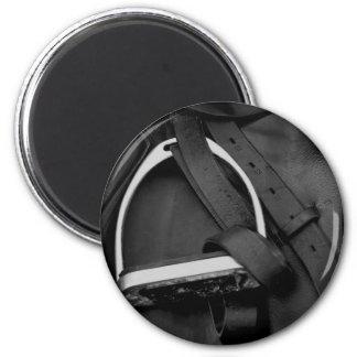 Shiny Stirrup 2 Inch Round Magnet