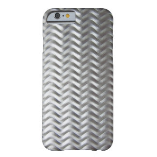 Shiny Textured Industrial Metal Sheet Barely There iPhone 6 Case