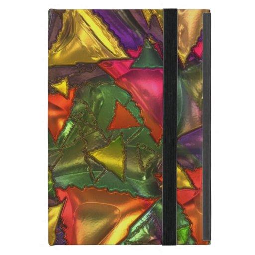 Shiny triangle iPad mini protectores