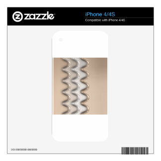 Shiny Waves Decals For The iPhone 4S