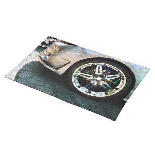 Shiny Wheels Place Mat