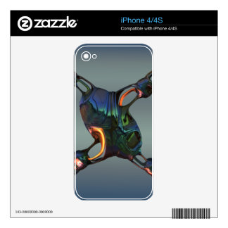 Shiny X iPhone 4 Decals