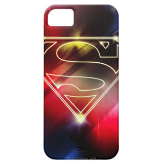 Shiny Yellow Outline Superman Logo iPhone 5 Covers