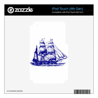 ship-3111--water-huge iPod touch 4G decals