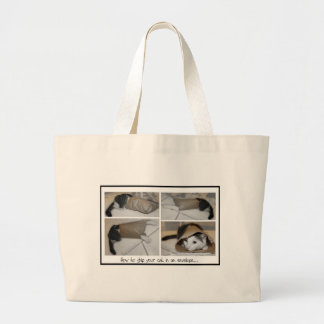 Ship a cat by mail funny cute cats print canvas bag