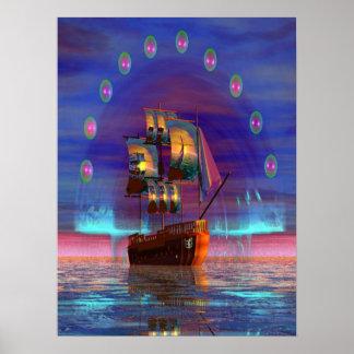 Ship A-Hoy Poster