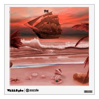 SHIP AHOY WALL STICKER
